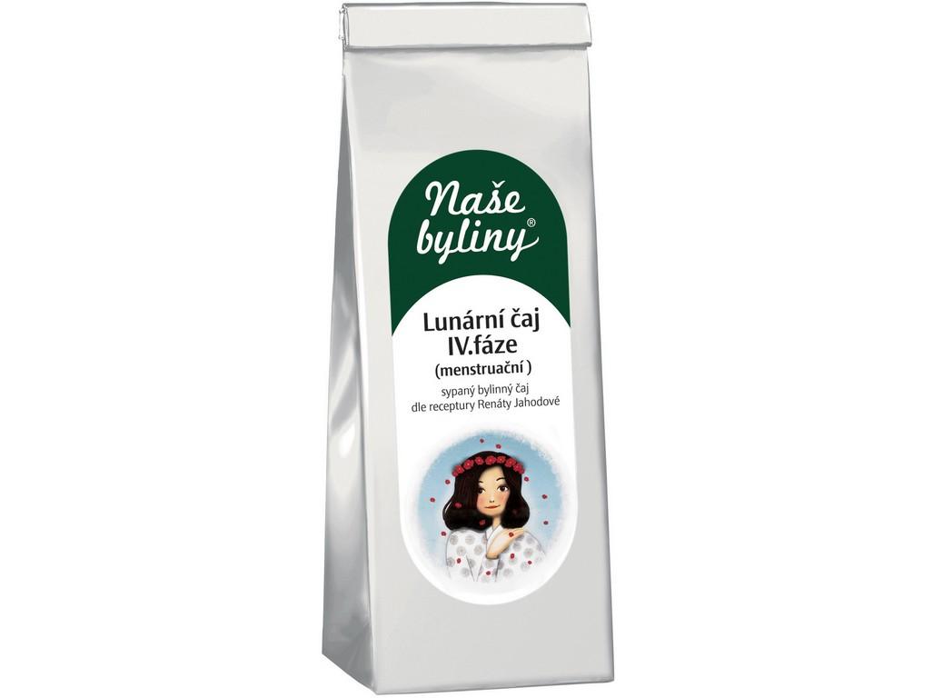 OXALIS Naše byliny - Lunární čaj IV.fáze (menstruační) 50g