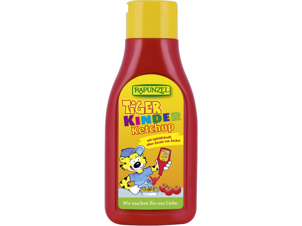 Rapunzel Bio dětský kečup Tygr 500ml