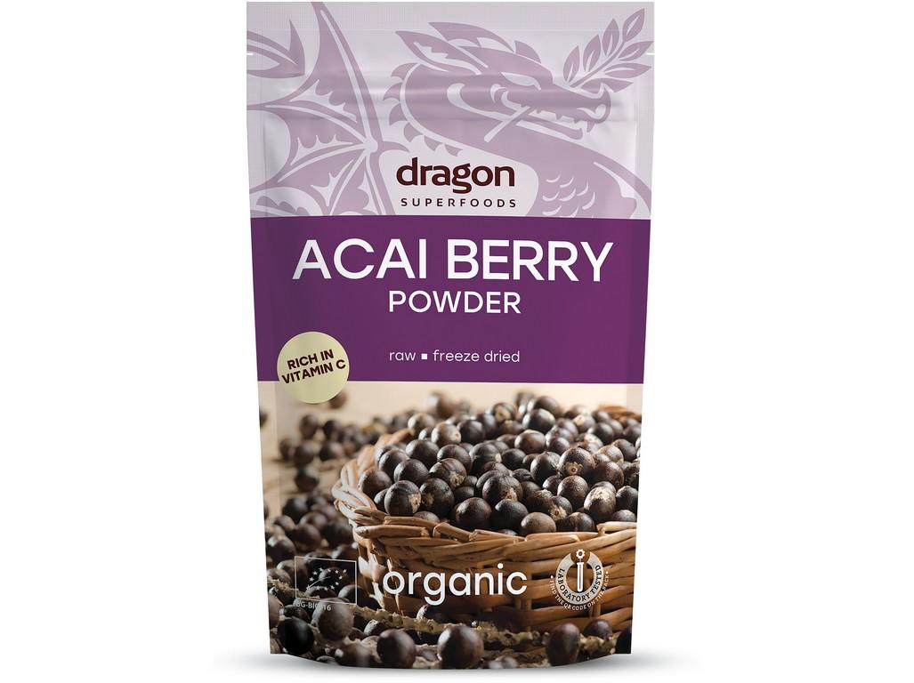 Dragon superfoods Bio Acai berry prášek 75g