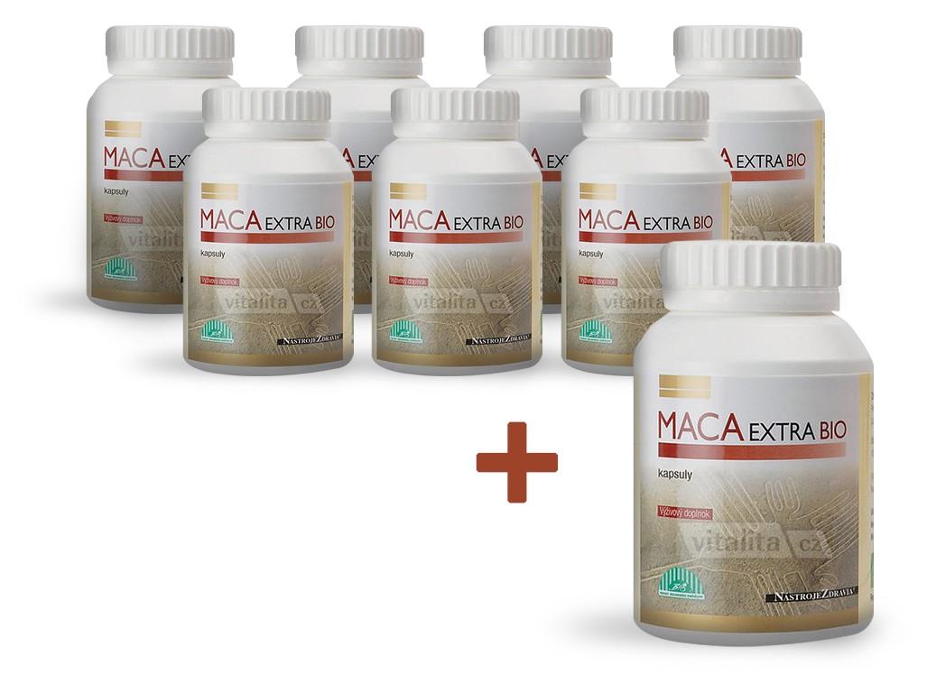 Nástroje zdraví Bio Maca extra 120 kapslí AKCE 7+1