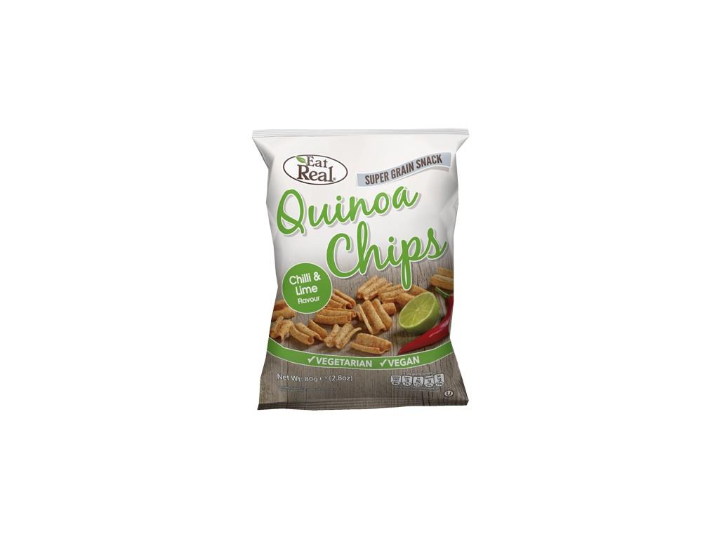 EatReal Quinoa chipsy – chilli a citron 30g