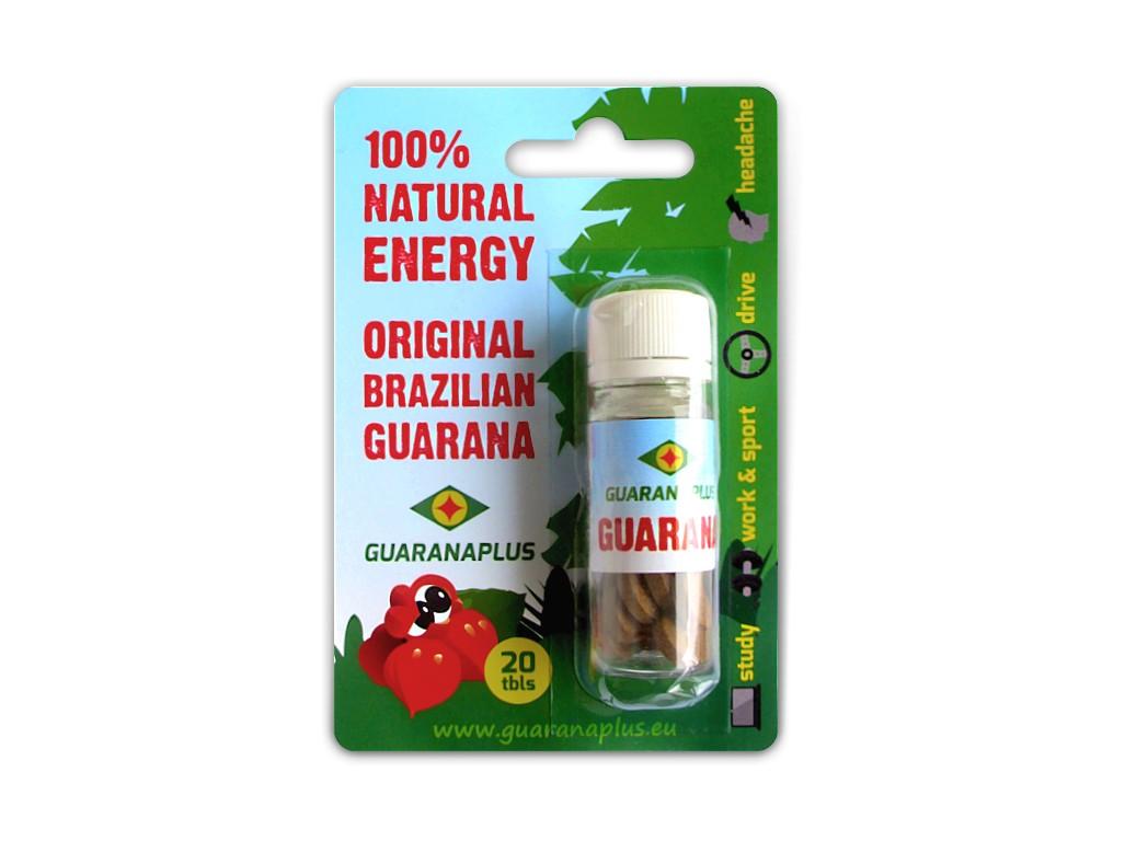 GUARANAPLUS Guarana 20 tablet
