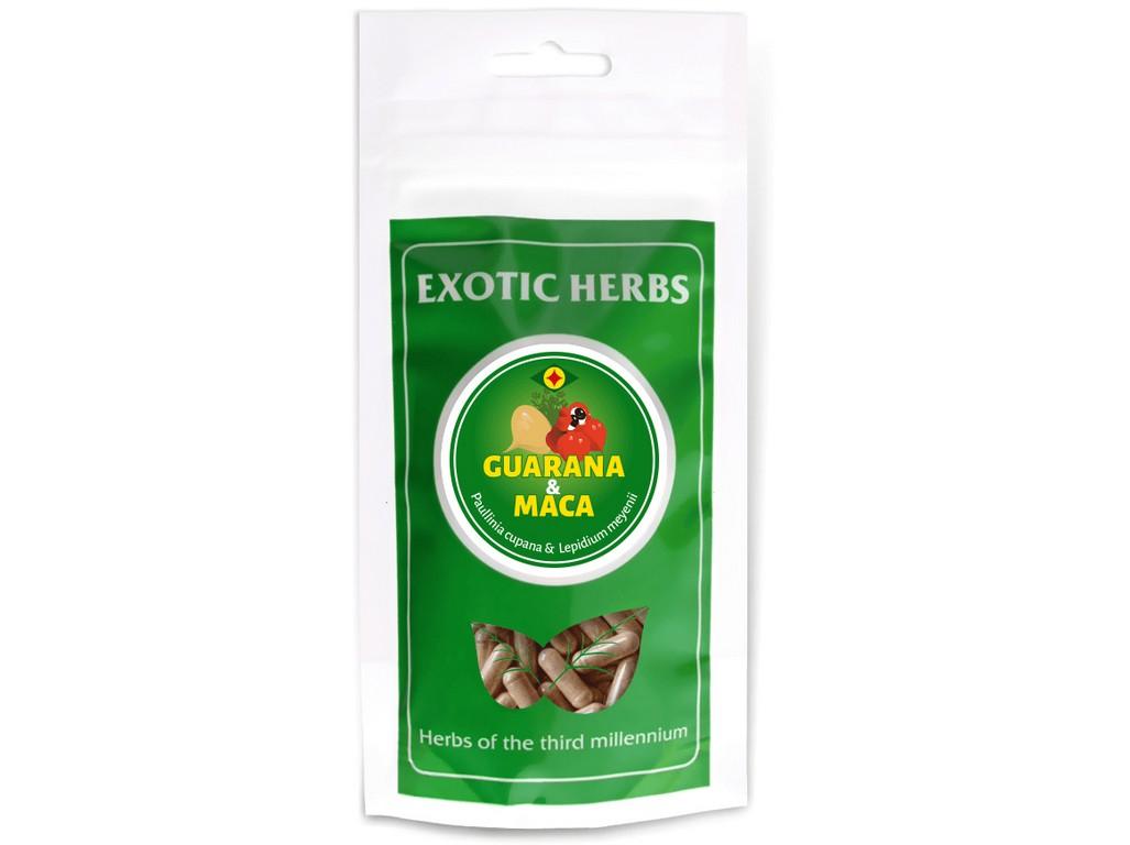 GUARANAPLUS Guarana-maca mix 50/50 veganské kapsle 100Ks