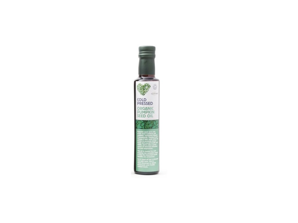 Sun and Seed Bio Olej z dýňových semínek raw 250ml