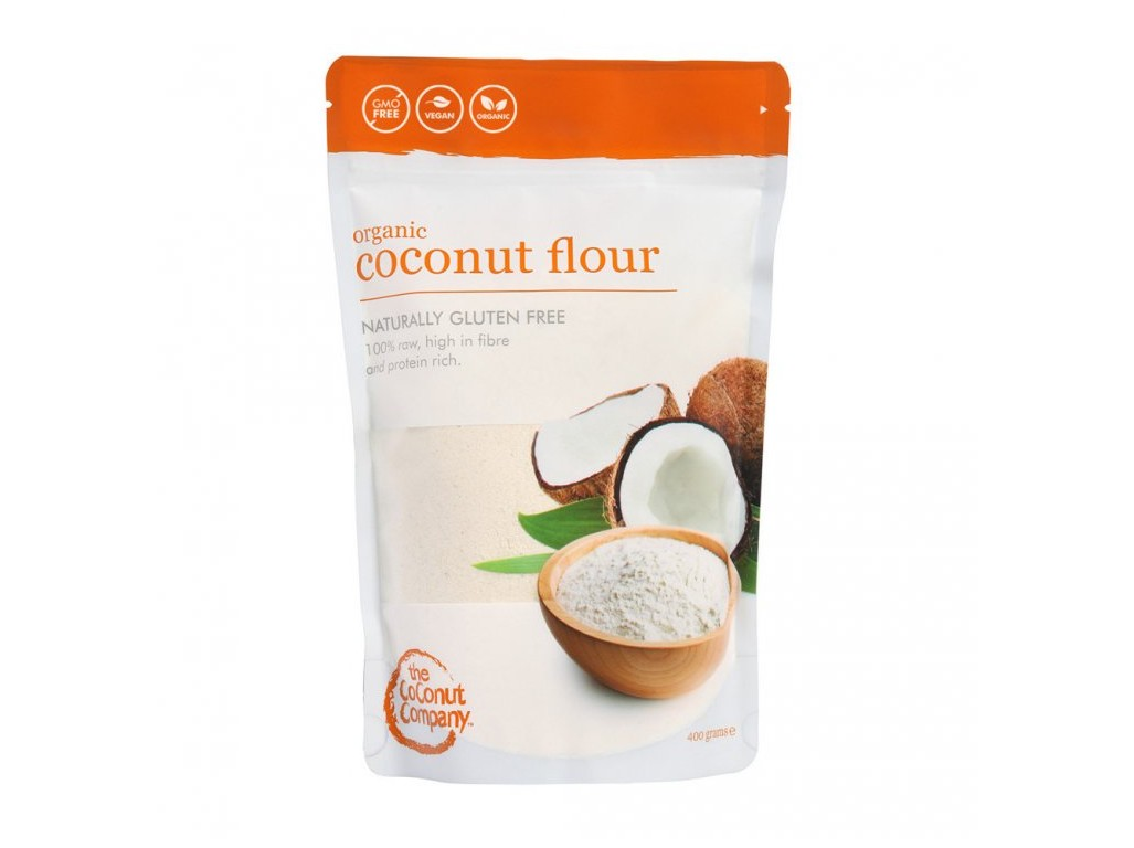 The Coconut Company Bio Kokosová mouka Raw 400 g