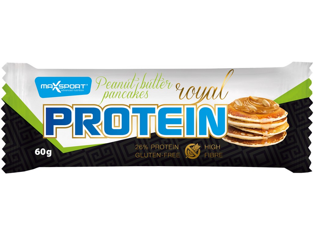 Max sport Royal protein delight Peanut butter pancakess 60g