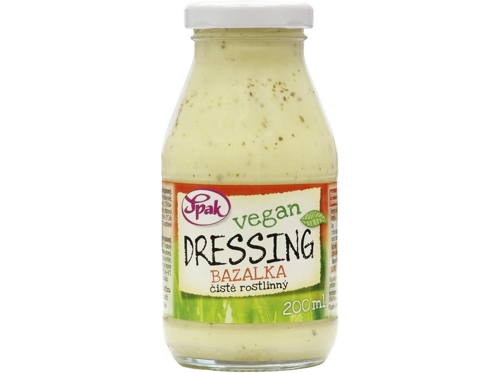 Spak Dressing Vegan Bazalka 200 ml