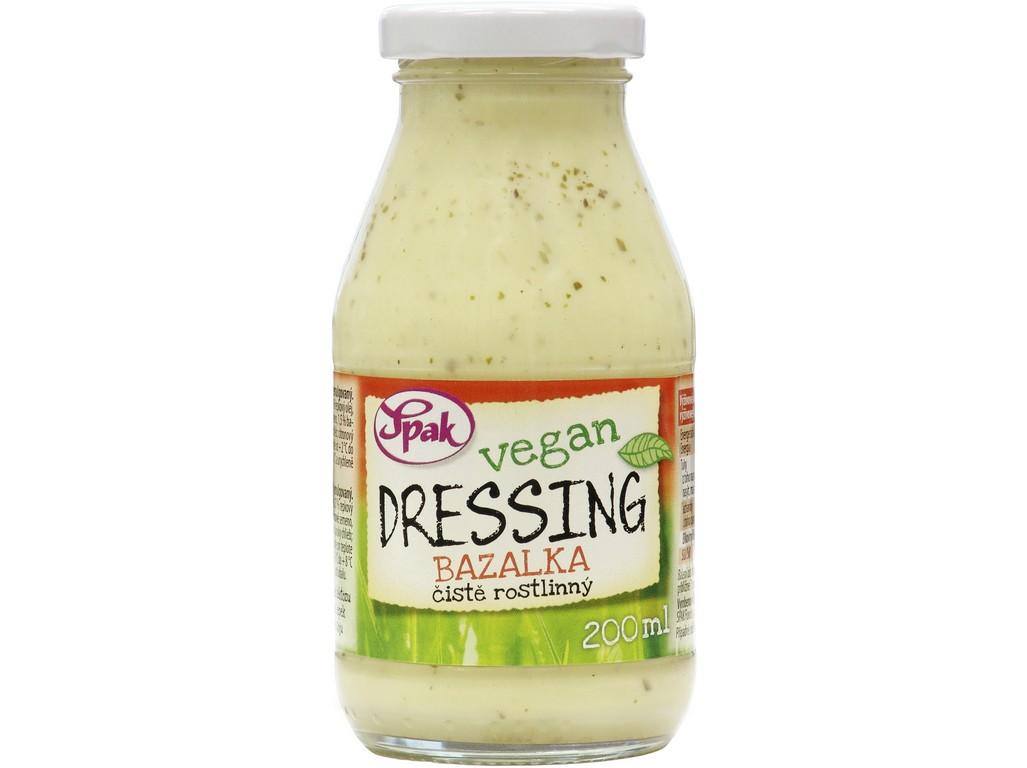 Spak Dressing Vegan Bazalka 200 ml