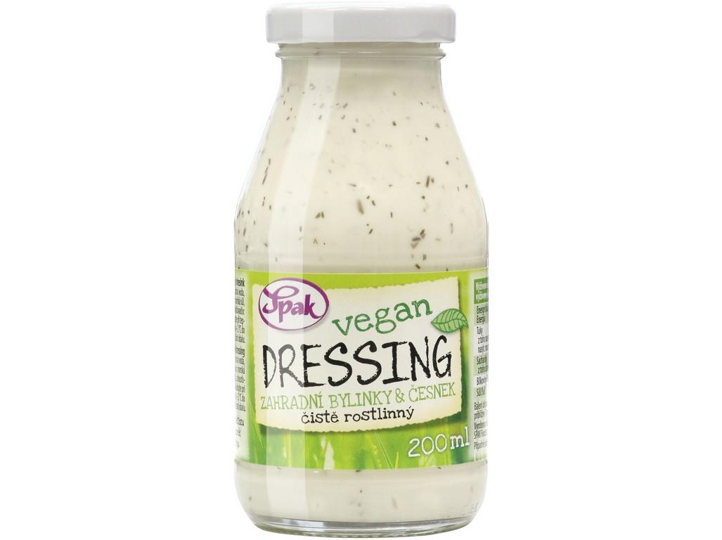 Spak Dressing Vegan Zahradní bylinky & česnek 200 ml