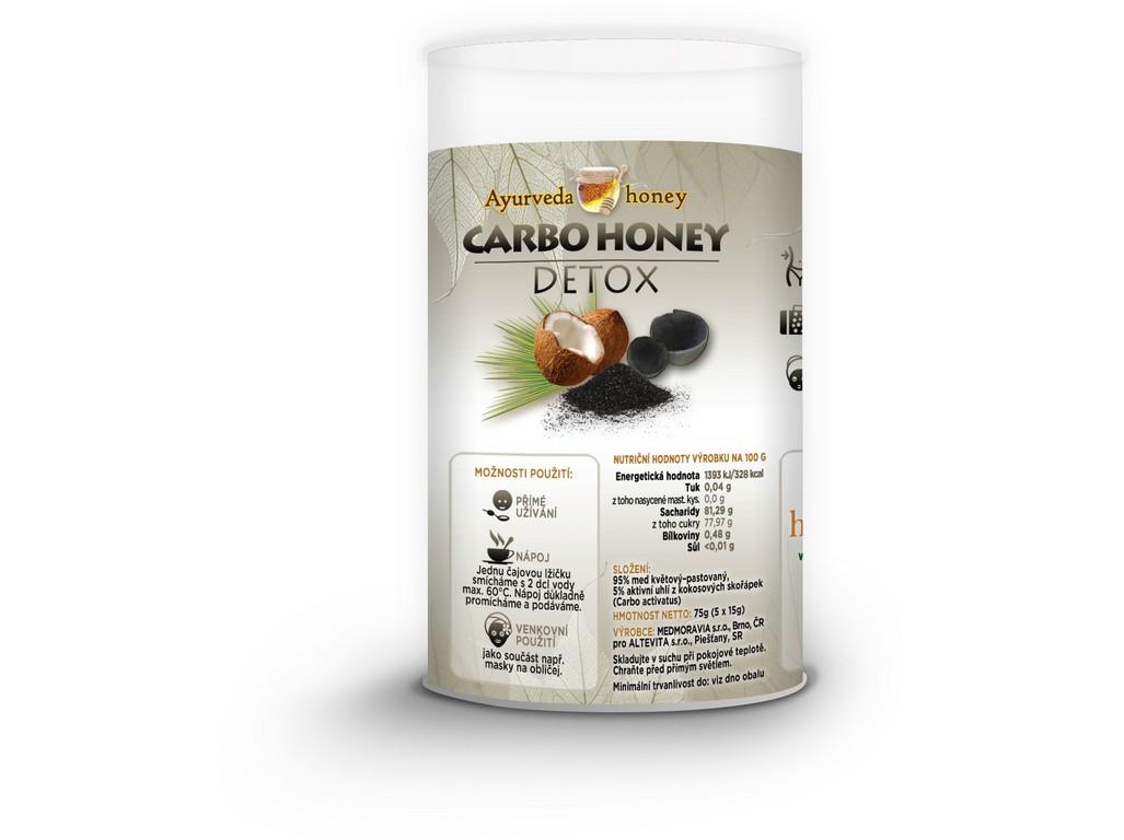 Altevita Carbo honey detox 5x15g Tubus