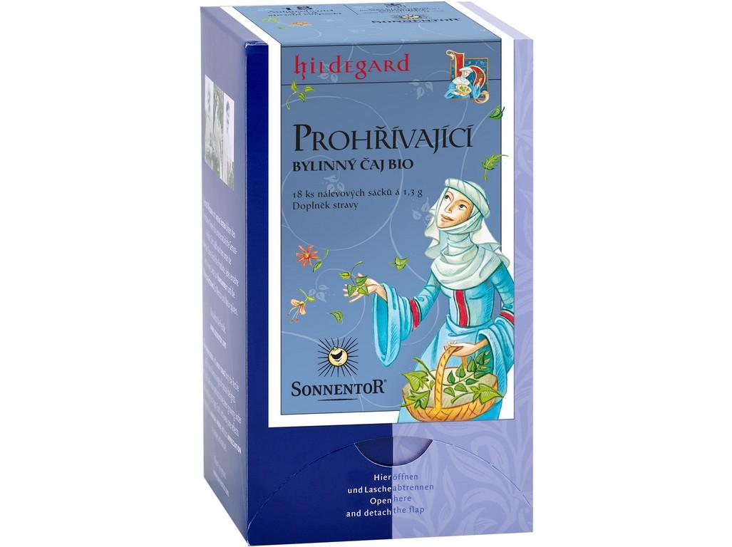 SONNENTOR Bio Prohřívací čaj Hildegarda - bylinný čaj porc. s kořením 23,4g dárkový (20sáčků)