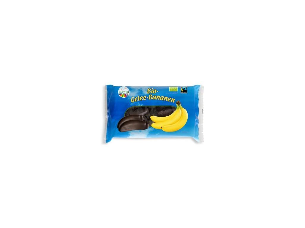 Ekovital Bio Banánky v tmavé čokoládě 250g