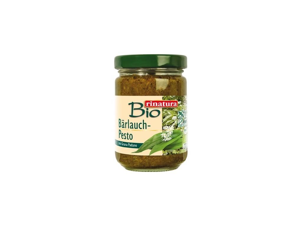Rinatura Pesto divoký česnek bezlepkové BIO 125 g