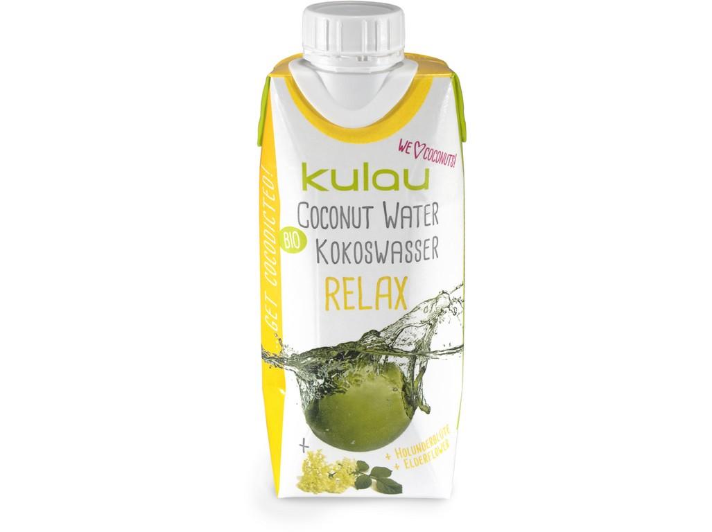 Kulau Bio kokosová voda RELAX 330ml