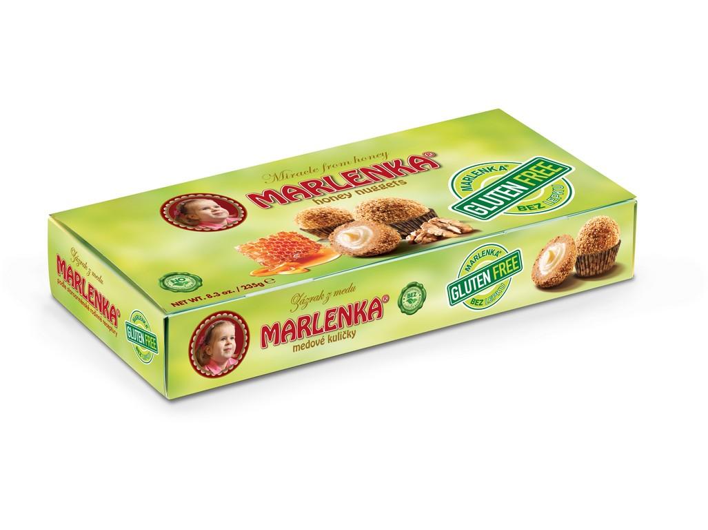 Bezlepkové medové kuličky Marlenka 235g