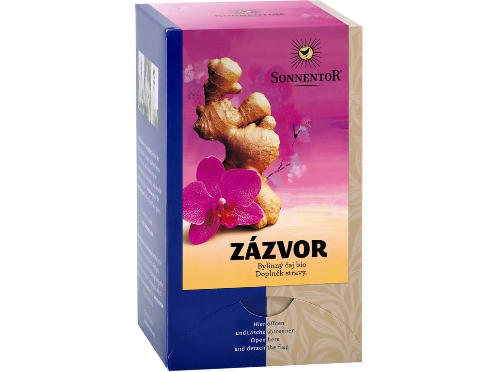 SONNENTOR Bio Zázvor - čaj porc. dárkový 20g (20sáčků)