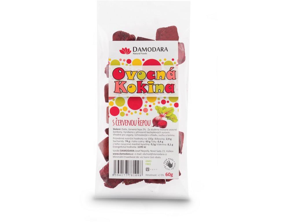 Damodara Ovocná kokina s červenou řepou 60g