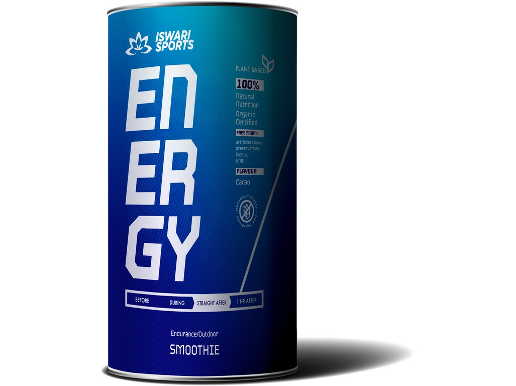 Iswari Bio Energy Smoothie/STRAIGHT AFTER 600g