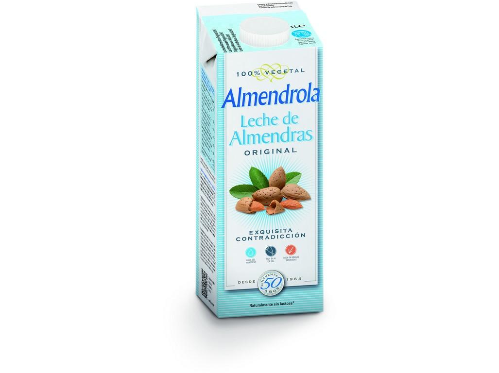 Almendrola Mandlový nápoj - slazený 1l
