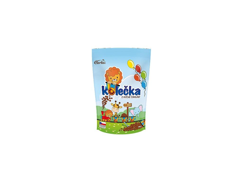 Carla Kolečka z mléčné čokolády 200g