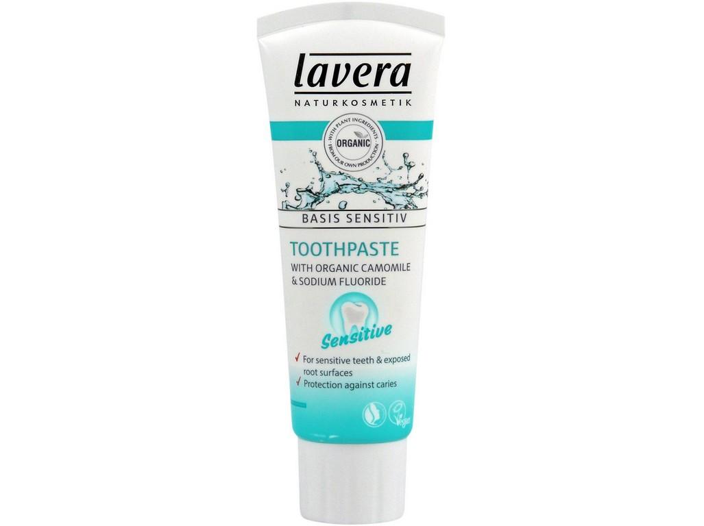 Lavera Zubní pasta SENSITIV pro citlivé zuby 75ml