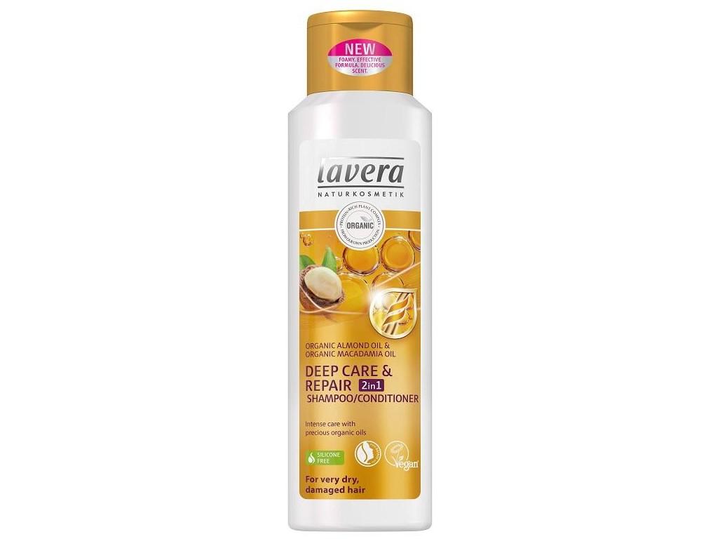 Lavera Šampon Deep Care & Repair – Šampon a kondicioner 2v1 250ml