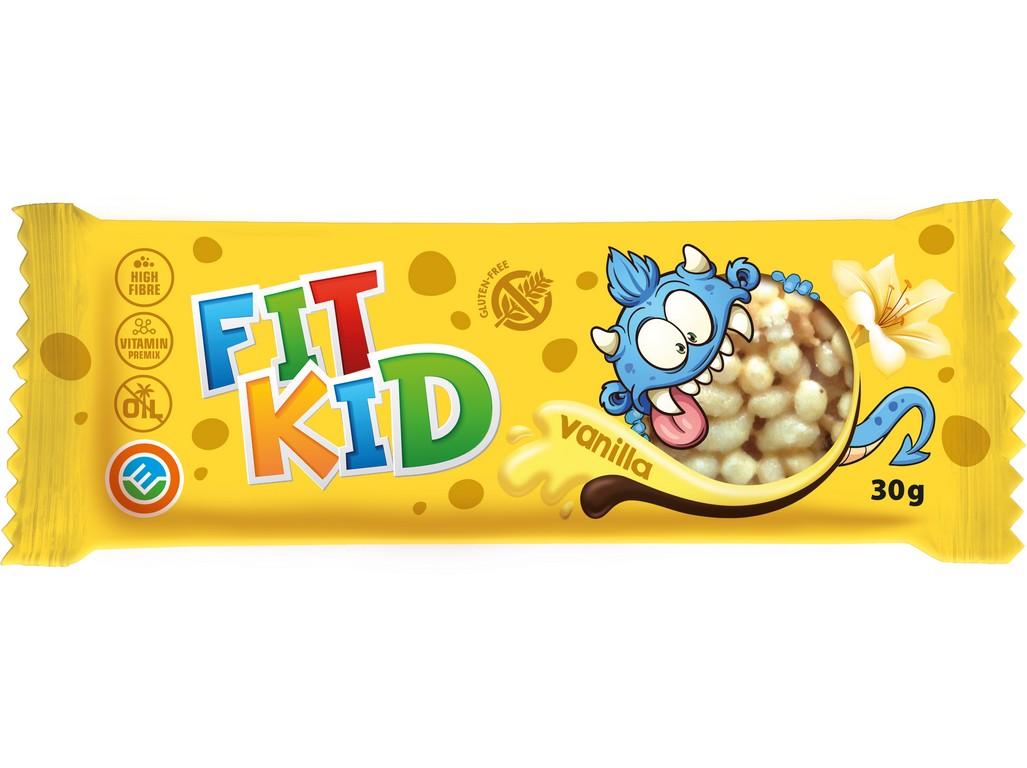 Max sport Tyčinka FIT KID vanilka 30 g