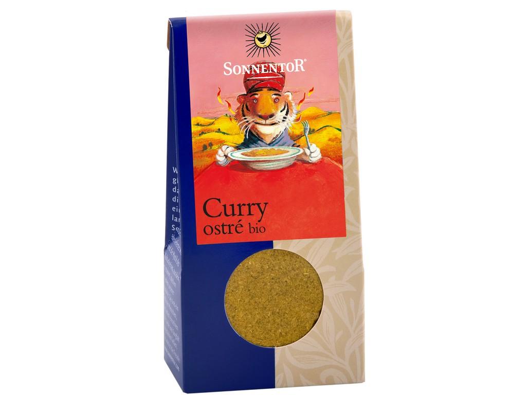 SONNENTOR Curry ostré mleté bio 35g