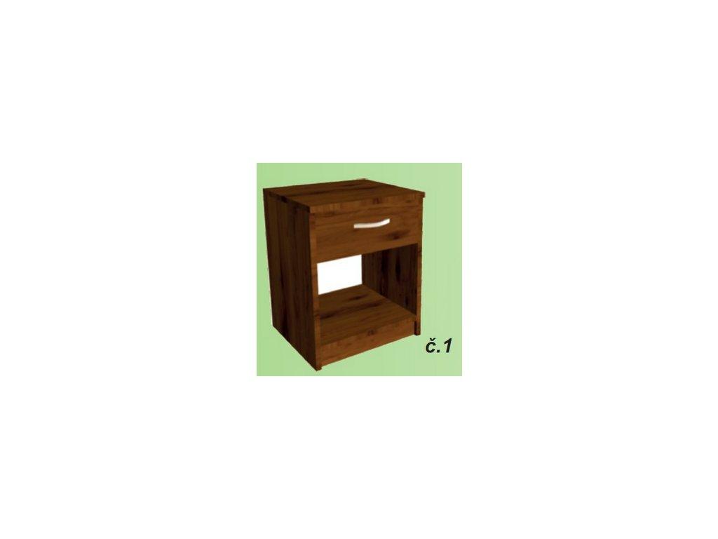Noční stolek Sally č.1