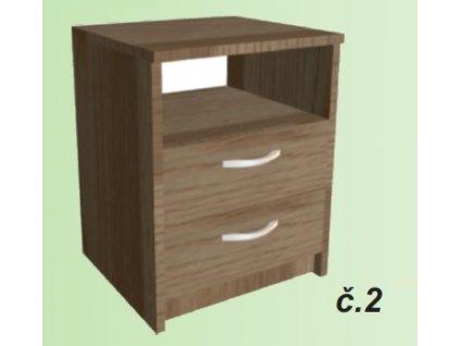 noční stolek sally č.2