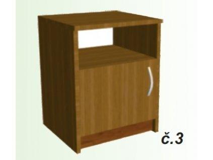 noční stolek sally č.3