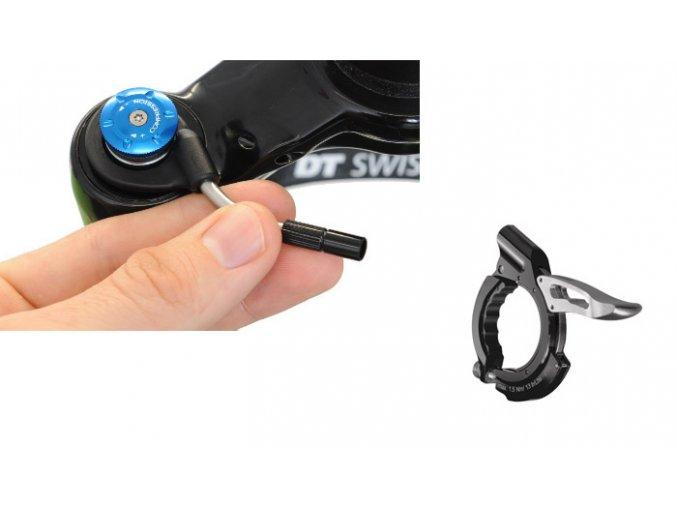 Remote Kit + páčka Light pro vidlice DT Swiss Open - Lock
