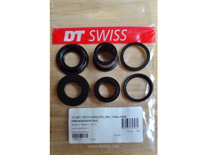 Koncovky Torque Caps pro přední DT Swiss náboje