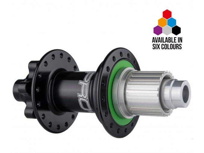 Zadní náboj Hope Pro 4 disc QR 5x135mm Shimano MTB Micro Spline 12speed