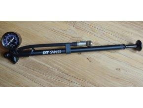 Pumpa DT Swiss na odpružené vidlice a tlumiče 450psi/31bar