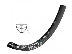 "Ráfek DT Swiss H 522 disc 29"""