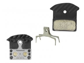 Destičky Shimano J04C XTR, XT, SLX - kovové s chladičem