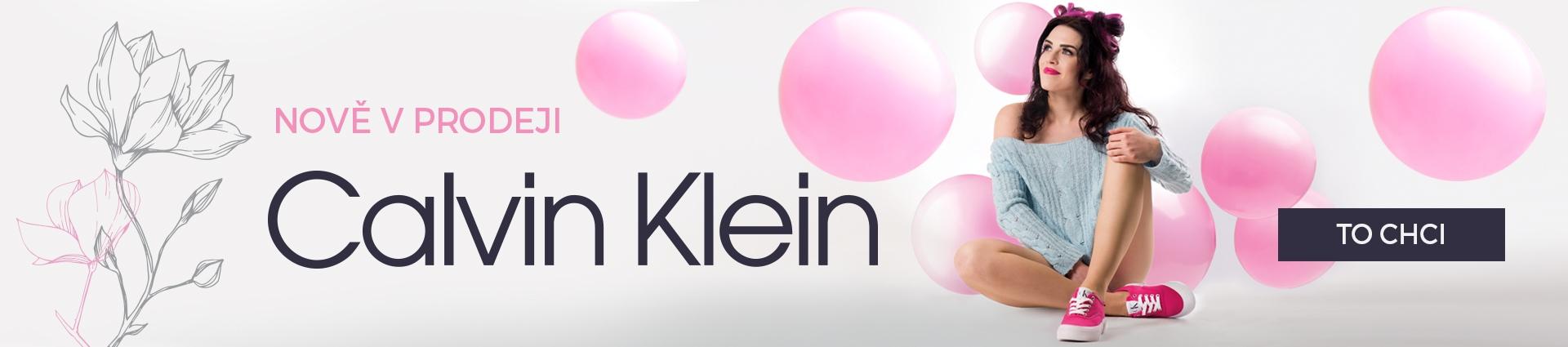Calvin Klein nově v prodeji