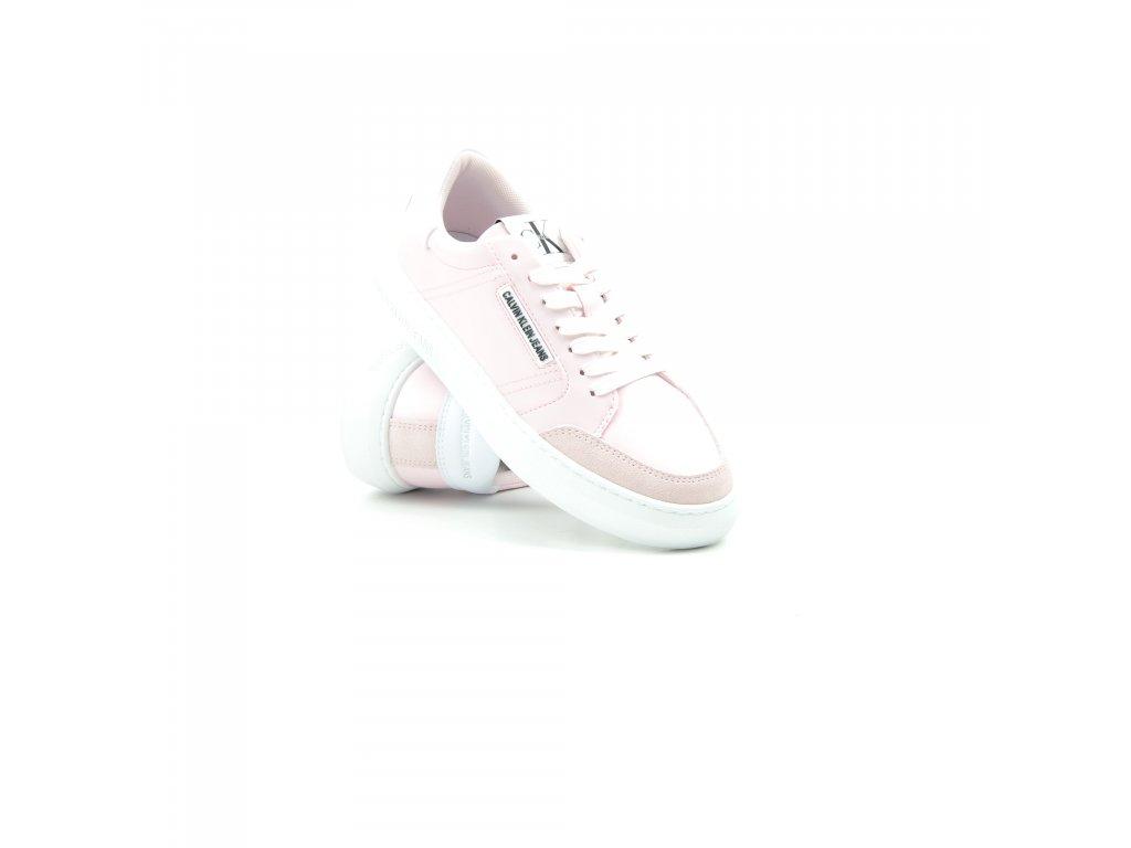 Dámské tenisky Calvin Klein-YW0YW00064-YAF-Pearly Pink (Velikost 41)