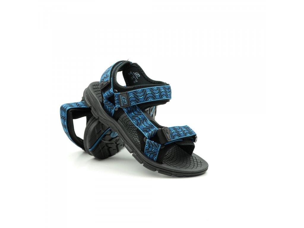 Hannah Feet-morocan blue