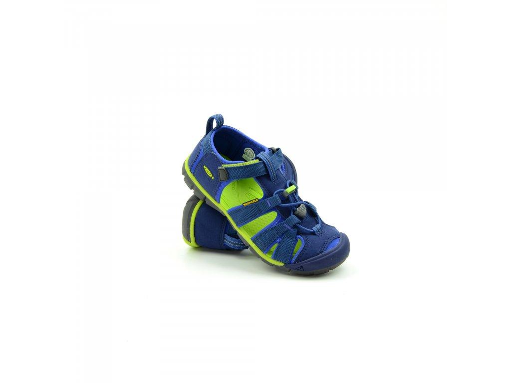 Seacamp-blue depts/chartreuse
