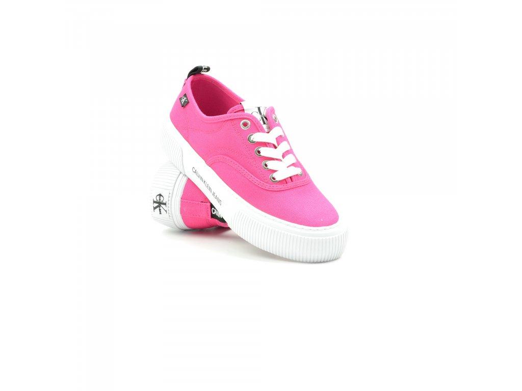Dámské tenisky Calvin Klein-YW0YW00054-TPZ-Party Pink (Velikost 41)