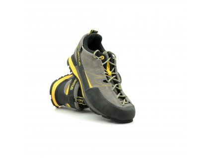 La sportiva Boulder X grey/yellow 9,5