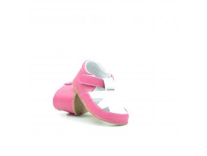 Pegres 1096 růžové sandálky bosé
