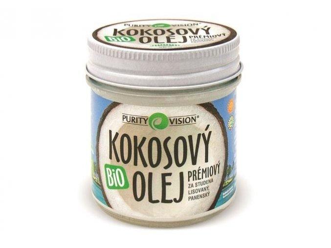 purity vision kokosovy olej panensky 120ml m5MQ