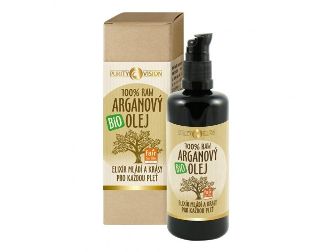 purity vision raw arganovy olej 100ml zLW5