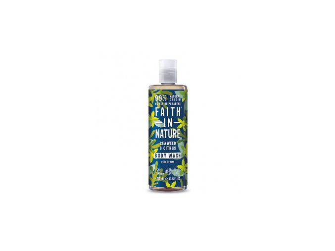 faith in nature prirodni sprchovy gel s morskou rasou 400ml