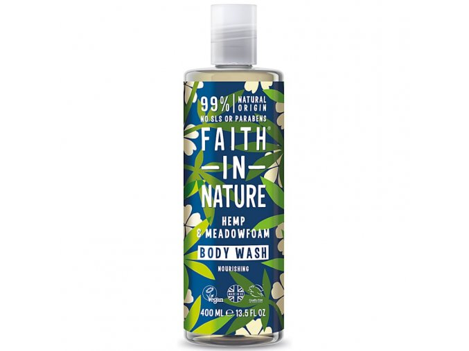 faith in nature prirodni sprchovy gel mokradka konopi 400l 1237