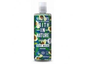 faith in nature sprchovy gel avokado 400ml