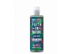 faith in nature prirodni sprchovy gel pena bio aloe vera a ylang ylang 400ml 1189